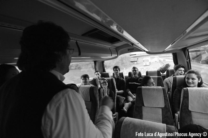 Brescia, 23/04/2012 - A Forza di essere Vento - Viaggio con il Coro Le Colone di Mortegliano verso Genova - Foto Luca d