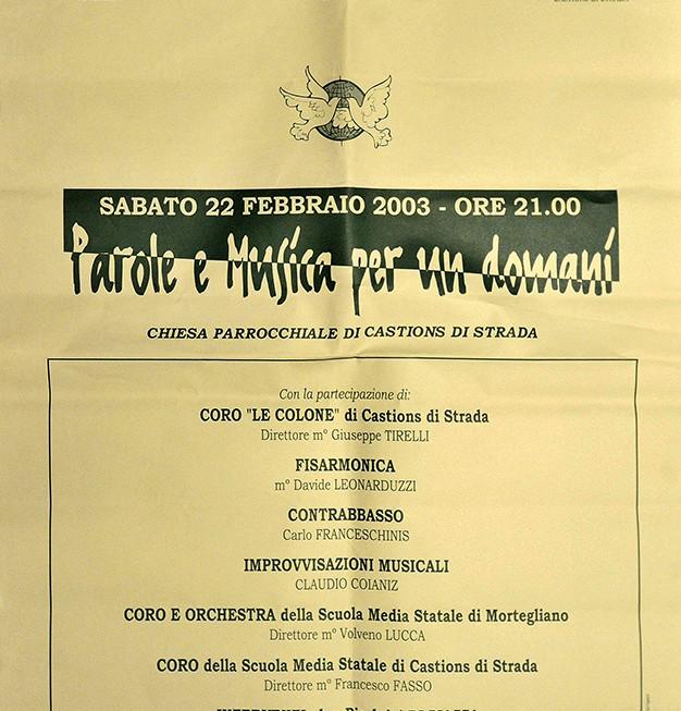 2003_castions_parole_musica_per_un_domani