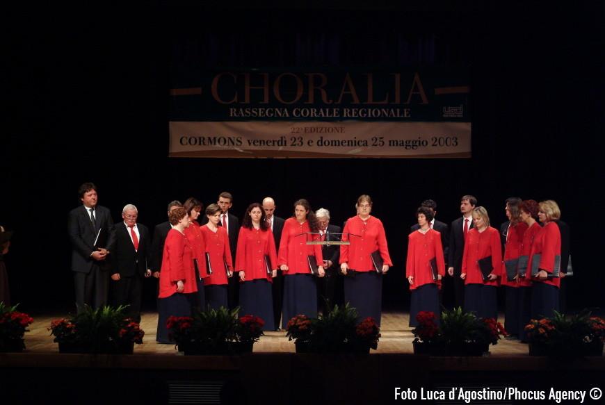 Cormons, 25/05/2003 - Choralia - Foto Luca d